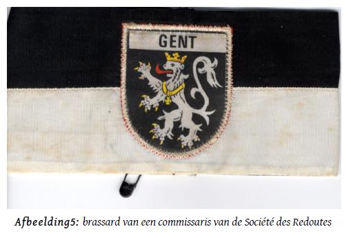 Armband_Bal_Commissaris_Societe_des_Redoutes_Gent