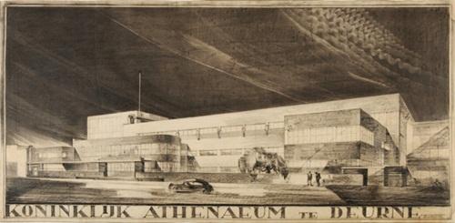 Koninklijk_Atheneum_Deurne_Ontwerp_1