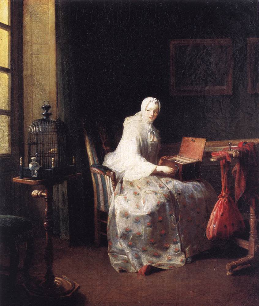 Jean_Siméon_Chardin_-_The_Canary_-_WGA04773